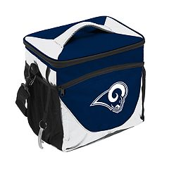 Logo Brand Los Angeles Rams 24-Can Cooler