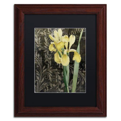Trademark Fine Art Ode to Yellow Flowers Framed Wall Art