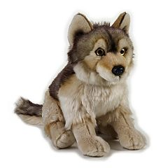 National Geographic Wolf Plush by Lelly