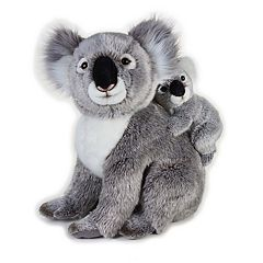 National Geographic Koala with Baby Plush by Lelly
