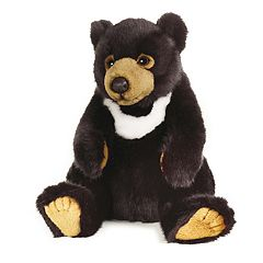 National Geographic Black Bear Plush by Lelly