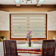 Chicology Free-Stop Cordless Zebra Roller Shade