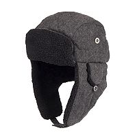 Men's Dockers® Wool-Blend Sherpa-Lined Trapper Hat