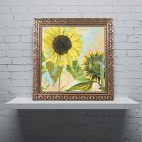 Trademark Fine Art Soleil I Ornate Framed Wall Art