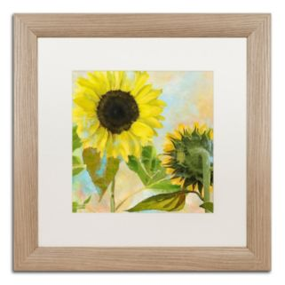 Trademark Fine Art Soleil I Distressed Framed Wall Art