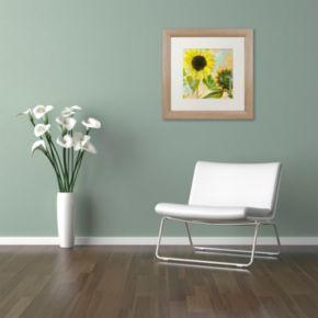 Trademark Fine Art Soleil I Distressed Framed Wall Art