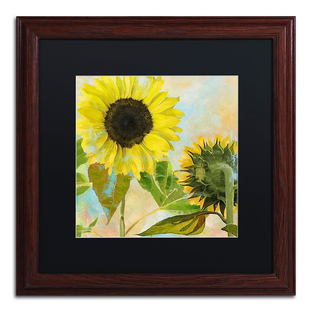 Trademark Fine Art Soleil I Framed Wall Art