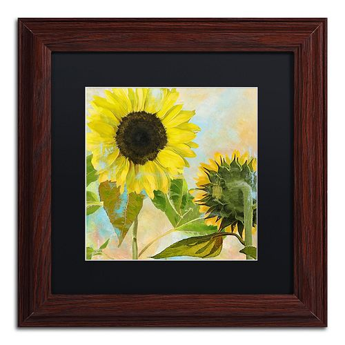 Trademark Fine Art Soleil I Framed Wall Art