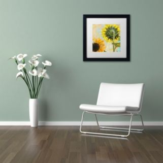 Trademark Fine Art Soleil II Framed Wall Art