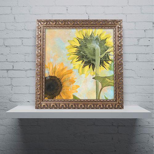 Trademark Fine Art Soleil II Ornate Framed Wall Art
