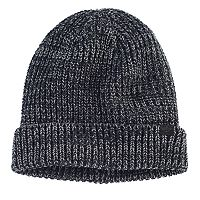 Men's Dockers® Marled Yarn Knit Beanie with Plush Lining