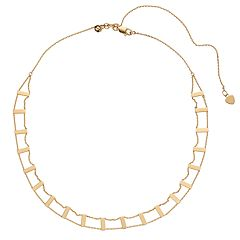 14k Gold Openwork Choker Necklace