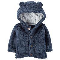 Baby Boy Carter's 3D Hood Sherpa Jacket