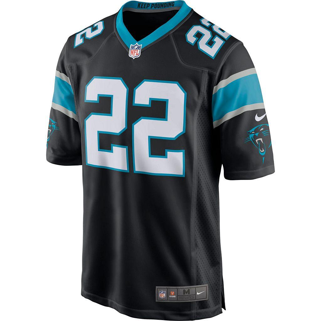 Men's Nike Carolina Panthers Christian McCaffrey NFL Replica Jersey