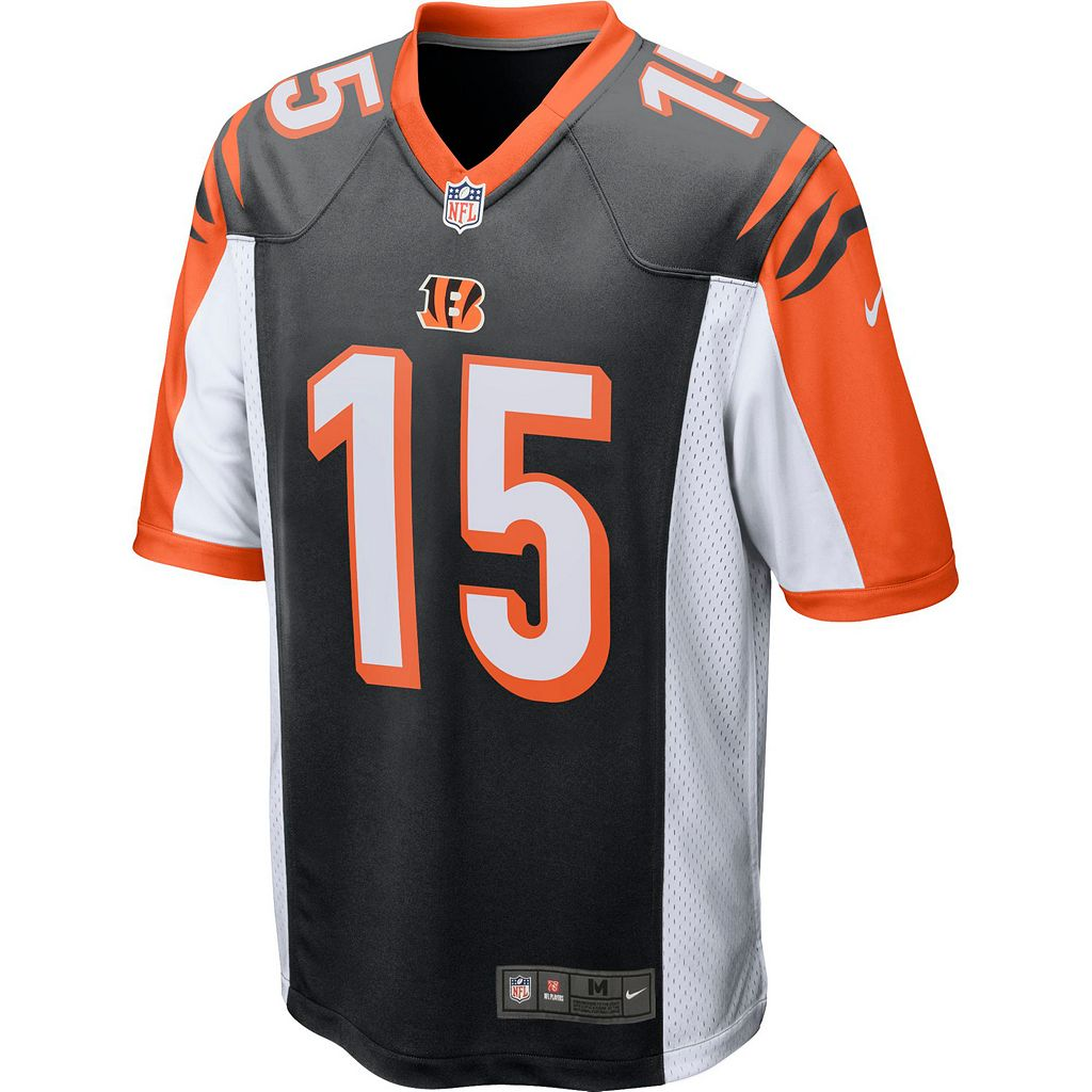 Men's Nike Cincinnati Bengals John Ross Game NFL Replica Jersey