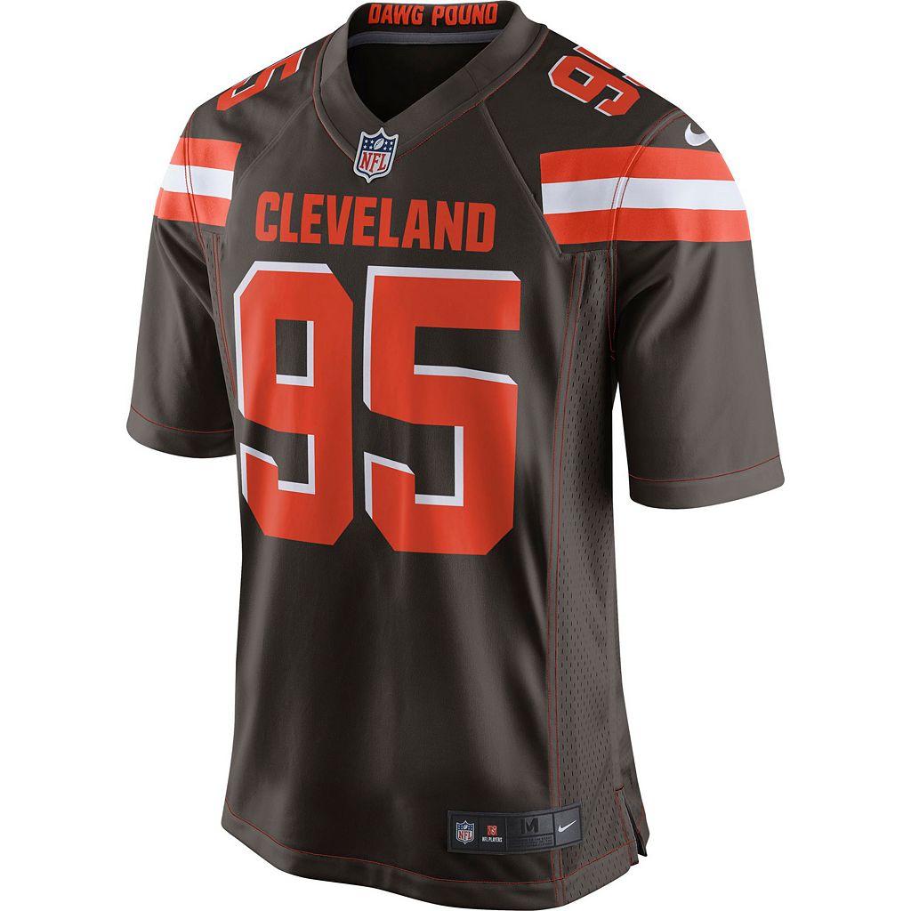 Men's Nike Cleveland Browns Myles Garrett NFL Jersey