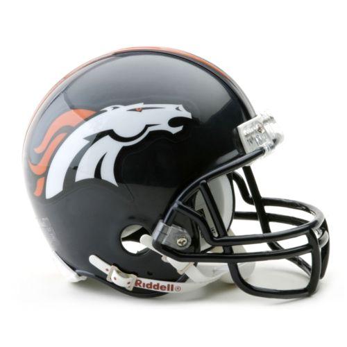Denver Broncos Mini Helmet