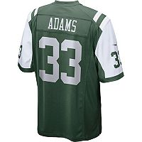 Men's Nike New York Jets Jamal Adams Game NFL Replica Jersey