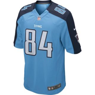 Men's Nike Tennessee Titans Corey Davis Game NFL Replica Jersey