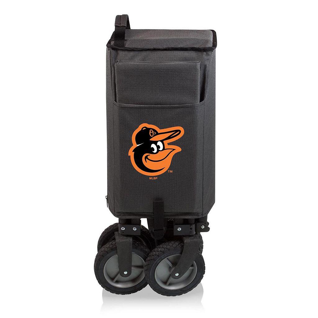 Picnic Time Baltimore Orioles Adventure Folding Utility Wagon