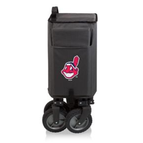 Picnic Time Cleveland Indians Adventure Folding Utility Wagon