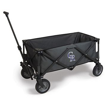 Picnic Time Colorado Rockies Adventure Folding Utility Wagon
