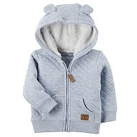 Baby Boy Carter's Sherpa Hood Quilted Jacket