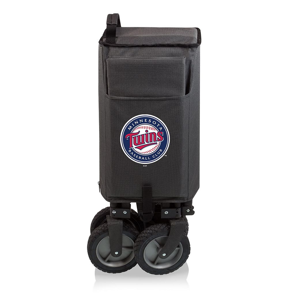 Picnic Time Minnesota Twins Adventure Folding Utility Wagon