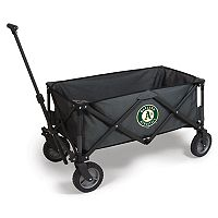 Picnic Time Oakland Athletics Adventure Folding Utility Wagon