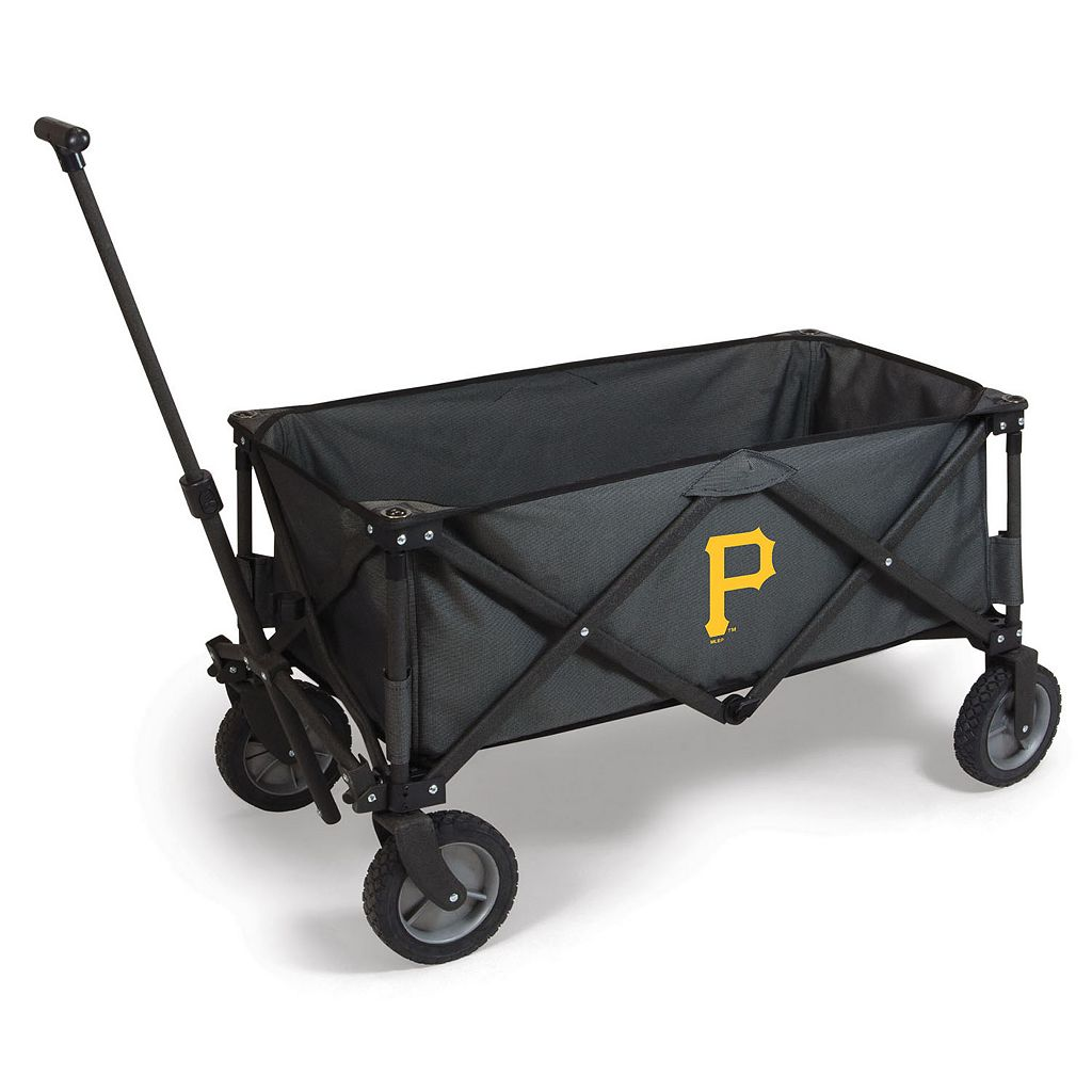Picnic Time Pittsburgh Pirates Adventure Folding Utility Wagon