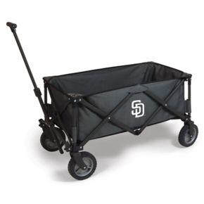 Picnic Time San Diego Padres Adventure Folding Utility Wagon