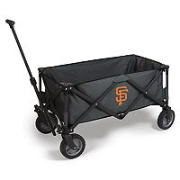 Picnic Time San Francisco Giants Adventure Folding Utility Wagon