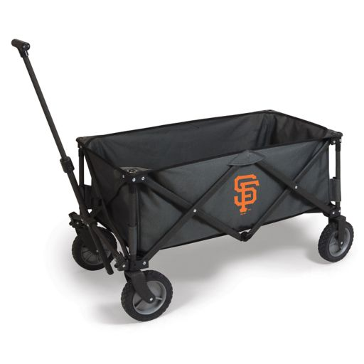 Picnic Time San Francisco Giants Adventure Folding Utility Wagon