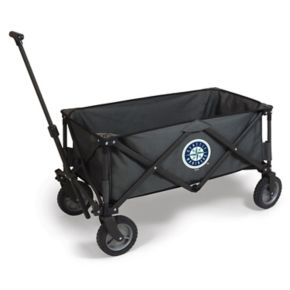 Picnic Time Seattle Mariners Adventure Folding Utility Wagon
