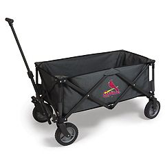 Picnic Time St. Louis Cardinals Adventure Folding Utility Wagon
