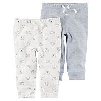 Baby Boy Carter's Thermal Pants & Bear Pattern Pants Set