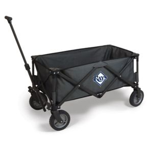 Picnic Time Tampa Bay Rays Adventure Folding Utility Wagon