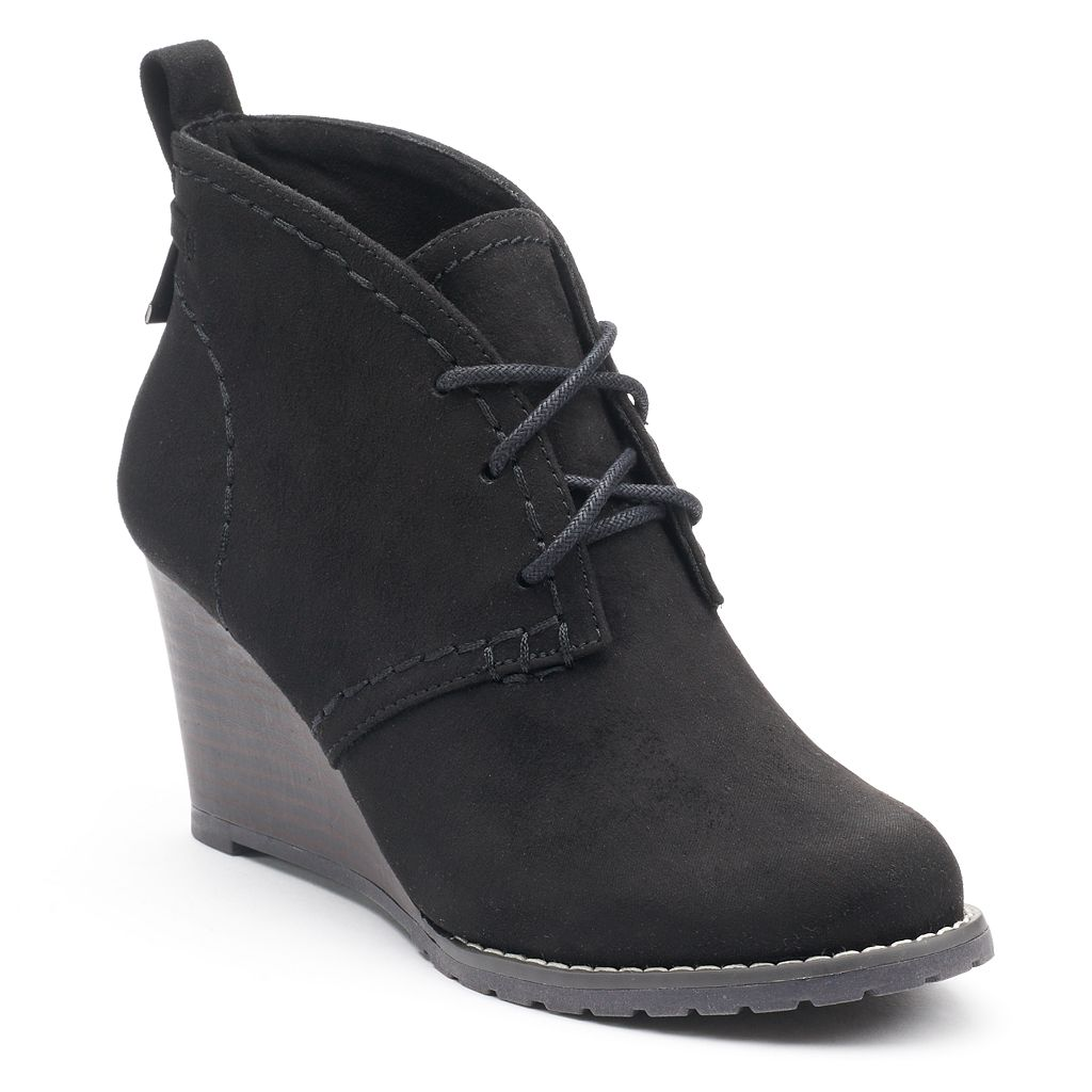 SO® Blog Women's Wedge Ankle Boots