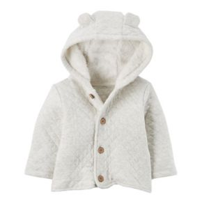Baby Carter's Sherpa Hood Quilted Jacket