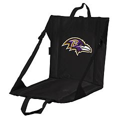 Logo Brands Baltimore Ravens Folding Stadium Seat