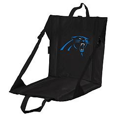 Logo Brands Carolina Panthers Folding Stadium Seat