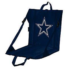 Logo Brands Dallas Cowboys Folding Stadium Seat