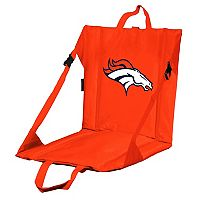 Logo Brands Denver Broncos Folding Stadium Seat