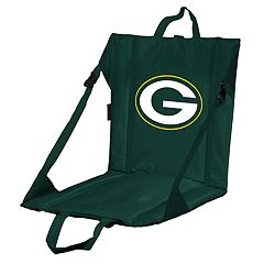 Logo Brands Green Bay Packers Folding Stadium Seat