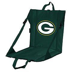 Logo Brands Green Bay Packers Folding Stadium Seat