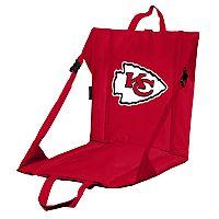 Logo Brands Kansas City Chiefs Folding Stadium Seat