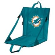 Logo Brands Miami Dolphins Folding Stadium Seat