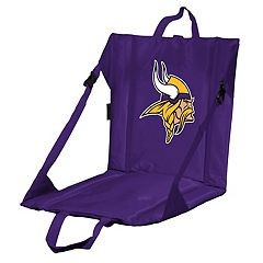 Logo Brands Minnesota Vikings Folding Stadium Seat