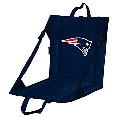 Logo Brands New England Patriots Folding Stadium Seat