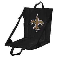 Logo Brands New Orleans Saints Folding Stadium Seat